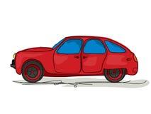 Bande dessinée de voiture de sport Images libres de droits