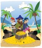 Pirate 2 - coloré Photos libres de droits