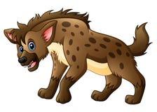 Bande dessinée drôle d'hyène illustration libre de droits