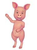 Bande dessinée du porc 3d Photographie stock