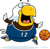 Bande dessinée Eagle Basketball Illustration de Vecteur
