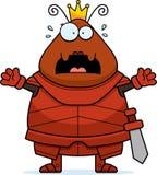 Bande dessinée effrayée Ant Queen Armor illustration de vecteur