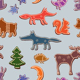 Bande dessinée Forest Animals Photographie stock