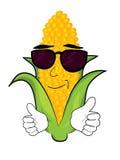 Bande dessinée fraîche de maïs illustration libre de droits