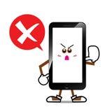 Bande dessinée futée 005 de téléphone Image libre de droits