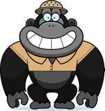 Bande dessinée Gorilla Safari illustration stock