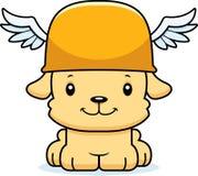 Bande dessinée Hermes Puppy de sourire Photo stock