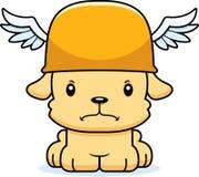 Bande dessinée Hermes Puppy fâché Image stock