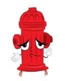 Bande dessinée innocente de bouche d'incendie illustration libre de droits