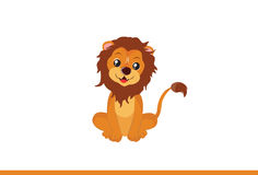Bande dessinée Lion Vector Illustration Photographie stock