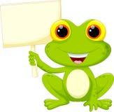 Bande dessinée mignonne de grenouille illustration stock