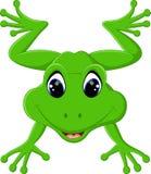 Bande dessinée mignonne de grenouille illustration libre de droits