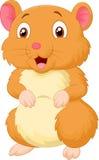 Bande dessinée mignonne de hamster Photo libre de droits
