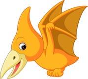 Bande dessinée mignonne de ptérodactyle Photo libre de droits