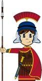 Bande dessinée mignonne Roman Soldier Photo libre de droits