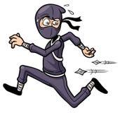 Bande dessinée Ninja illustration libre de droits