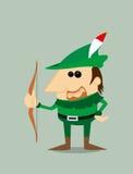 Bande dessinée Robin Hood Images libres de droits