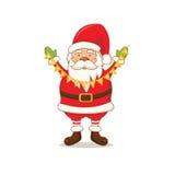bande dessinée Santa Claus mignonne Vecteur Image libre de droits