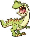 Bande dessinée T-rex illustration stock