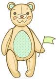 Bande dessinée Teddy Bear Photo stock