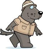Bande dessinée Wolf Safari illustration libre de droits