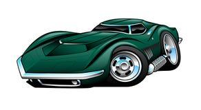 Bande dessinée de pastenague de Corvette Image libre de droits