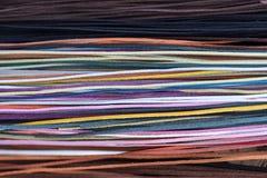 Bande di cuoio variopinte Fotografia Stock Libera da Diritti