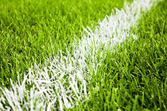 Bande di gioco del calcio o di calcio Fotografia Stock