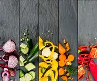 Bande di verdure della miscela Fotografia Stock Libera da Diritti