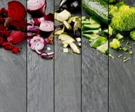 Bande di verdure della miscela Immagini Stock Libere da Diritti