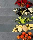 Bande di verdure della miscela Immagine Stock