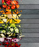 Bande di verdure della miscela Immagine Stock Libera da Diritti
