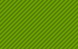 Bande diagonali verde chiaro e verdi Fotografia Stock Libera da Diritti