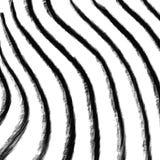 Bande disegnate a mano nere illustrazione vettoriale
