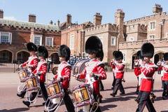 Bande du grenadier Guards photo libre de droits