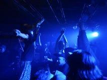 Bande du Japon dans l'action Images libres de droits