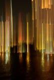 Bande e raggi del fondo della luce Immagine Stock