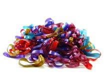 Bande elastiche di colore misto Fotografia Stock