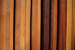 Bande en bois Photographie stock libre de droits