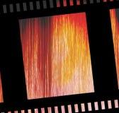 Bande endommagée de film négatif Images libres de droits