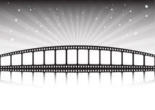 Bande et étoiles de film Photo libre de droits