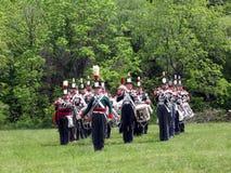 Bande et tambour 2009 de Stoney Creek Battlefield Photographie stock libre de droits