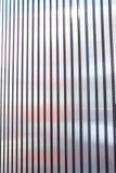 Bande extérieure en métal de voie de garage Image stock