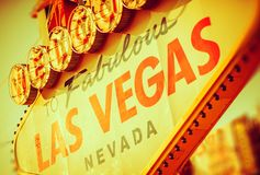 Bande fabuleuse de Las Vegas Image stock