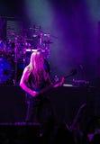 Bande finlandaise de Nightwish sur l'étape Photos stock