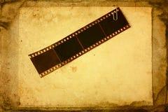Bande grunge de film Photos libres de droits