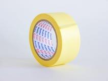 Bande jaune de papier photo stock