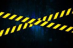 bande jaune et noire de cordon illustration stock illustration du cordoned croisement 39433962. Black Bedroom Furniture Sets. Home Design Ideas