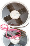 Bande magnétique pour enregistrement sonore de vintage photos stock