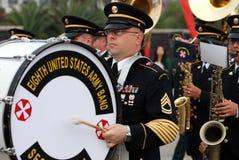 Bande militaire Photos libres de droits